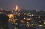 Beautifull view of Groningen