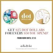 Dot Dollars Promo