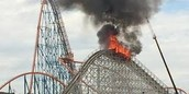 This is one of the many dangers that can happen to you while riding a roller coaster