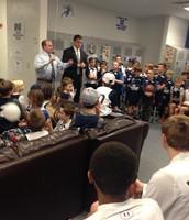 Coach Dyer Pre Game Talk