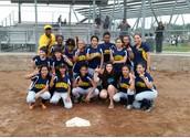 Gaston Softball Team wins District Championship