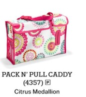 Pack N' Pull Caddy in Citrus Medallion