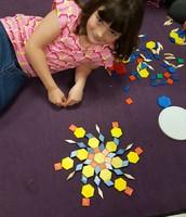 a beautiful starburst flower