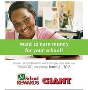 Giant A+ Rewards begins October 3rd!
