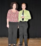 Ms. Cibotti (not pictured) and Brenton Llane