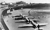 Ein Alliierten Flugzeug ist abgefahren oder gelandet in West Berlin jede 30 Sekunde.