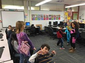 Second graders act out fables!