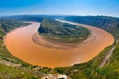 The Yellow River in China that had the four deadliest Floods