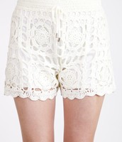 The Christie Crochet Shorts