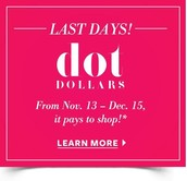 Next, Grab any of the items on sale between 40-60% off! And get Dot Dollars!