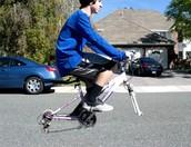Wheel-less Bike*