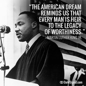 One of MLK's quotes