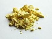 Crushed Sulfur
