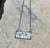 Goodrich Cemetery Wildflower Pendant