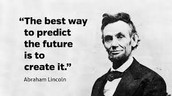 A quote from Lincoln.