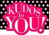 KUDOS TO:
