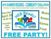 HEB Community Reading Challenge