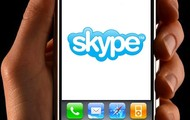 Sometimes I use Skype in my phone