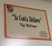 """Ya Gotta Believe"""