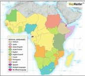 Official Languages In the Sub-Saharan Africa