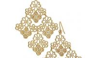 Chantilly Lace Chandelier Earrings, $49