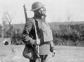 Gas Mask used in WWI