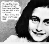Diary of Anne Frank By Destiny Luisi