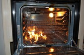 Oven fires