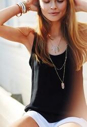 Aria Pendant Necklace - wear it three ways!