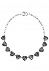 Sommervell Necklace-Black/Silver