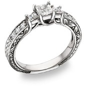 Easy way to pick a cheap diamond engagement ring