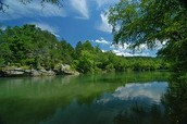 Where is the river basin located in North Carolina?