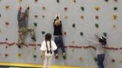 Climbing Wall Fun!