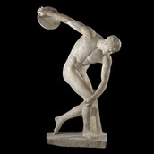 Discobolus of Myron by Unknown
