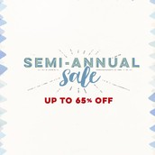 The SEMI-ANNUAL SALE starts tomorrow, January 2nd!