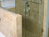Bypass Frameless Shower