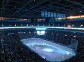 Sold out blues arena