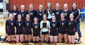 High school volleyball team of 2014!!!