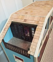 Finished the Roof on the Dollhouse