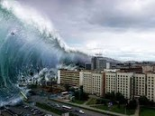 the tsunami damage-