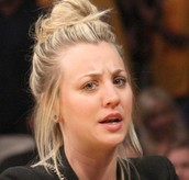 This is Kaley Cuoco