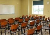 mi classe en la escuela.