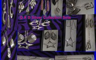 Silver Jewelry Collection Sets!