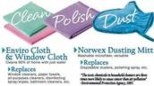 Clean, Polish, Dust