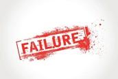Failure and Final Failure