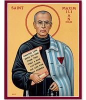 Portrait of Saint Kolbe
