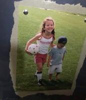 ¡Jugaban al fútbol!