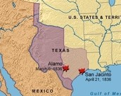 1836 - Texas Independence