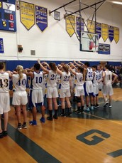 Annual Blue and Gold Game