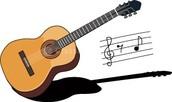 Yo encanta toco la guitarra